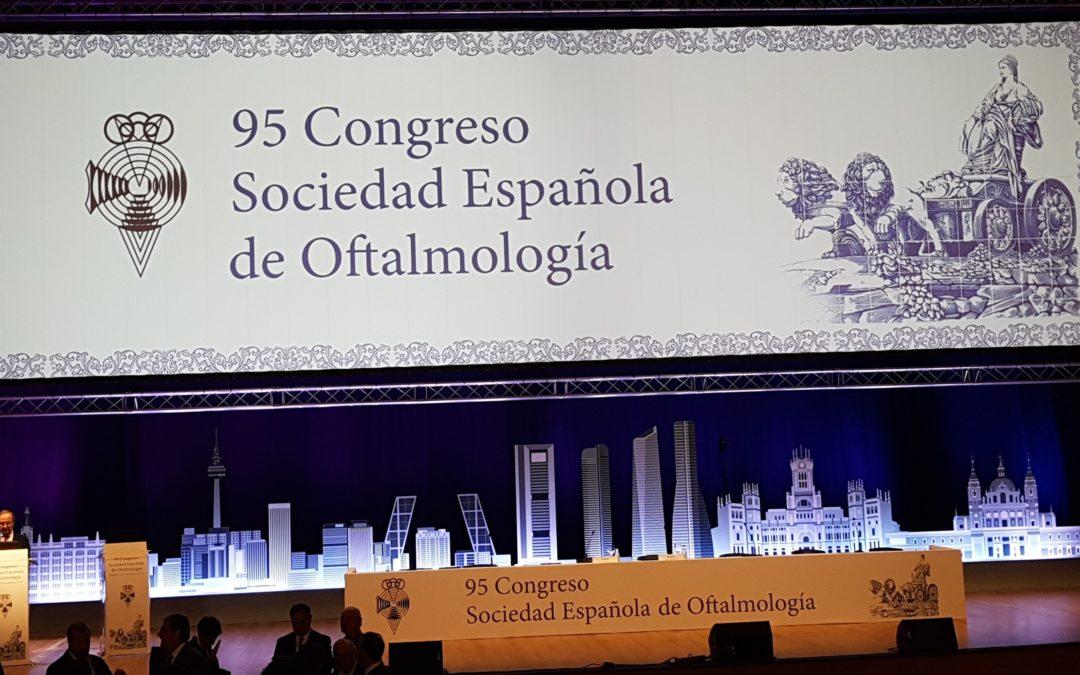 95 CONGRESO DE LA SOCIEDAD ESPAÑOLA DE OFTALMOLOGIA